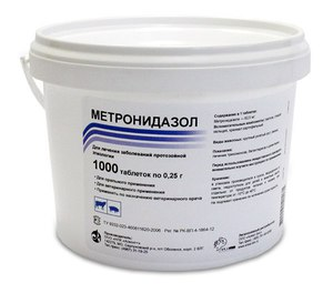 Метронидазол в ветеринарии инструкция по применению забираем